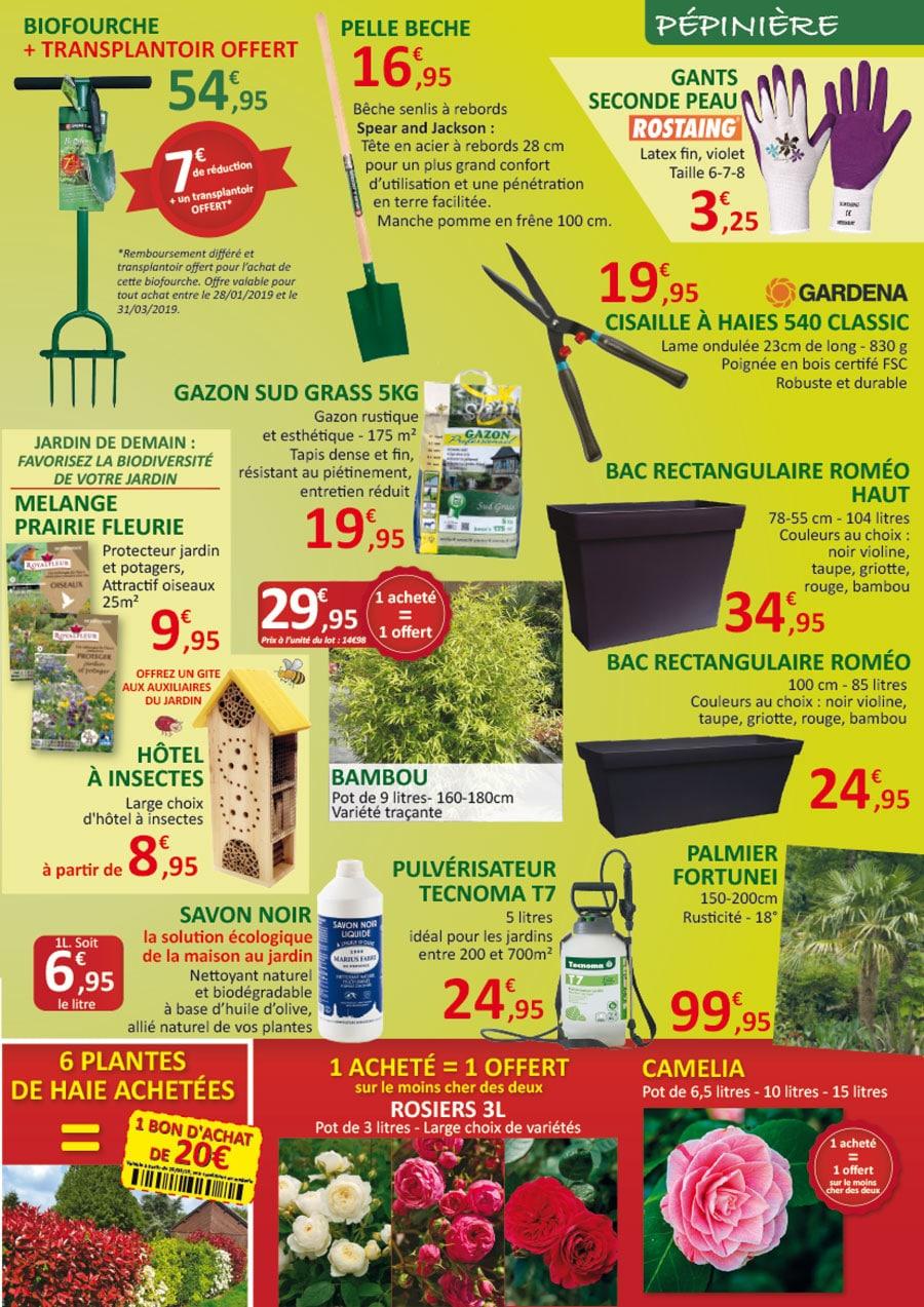 Jardinerie Pas Cher Toulouse promotions du 27 fevrier au 17 mars - jardinerie toulousaine